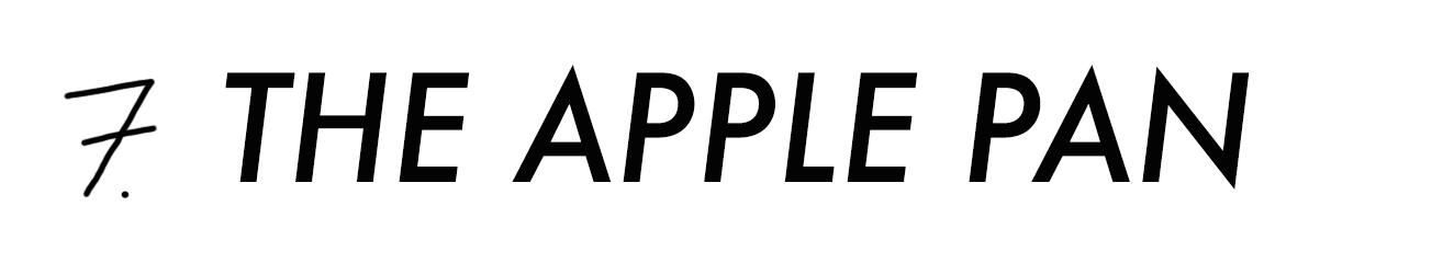 Apple Pan Schrift